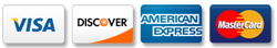 Visa Discover American Express MasterCard Accepted in 94620